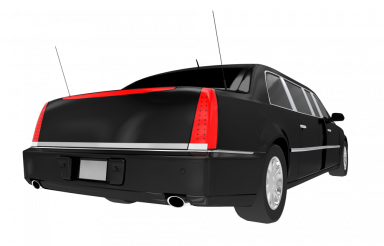 Armored Limo Rear PNG