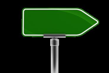 Arrow Street Sign