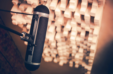 Audio Recording Studio Boom Microphone