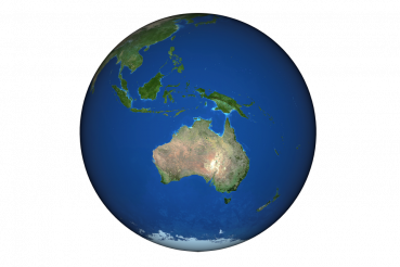 Australia Globe PNG