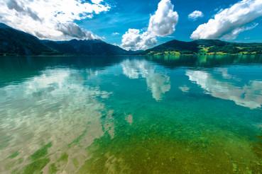 Austrian Lake Landscape