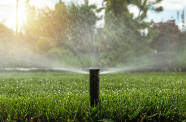 Automatic Backyard Garden Lawn Water Sprinkler