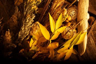 Autumn Floral Composition