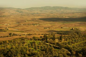 Autumn in the Tuscany Italy
