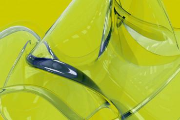 Background Green Glass