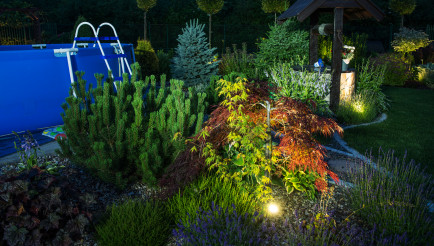 Backyard Garden Illumination Outdoor Lighting