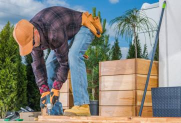 Backyard Garden Small Woodwork