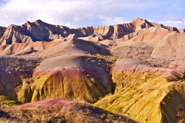 Badlands Eroded Buttes