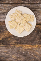 Baked Woven Crackers