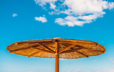 Bamboo Beach Umbrella