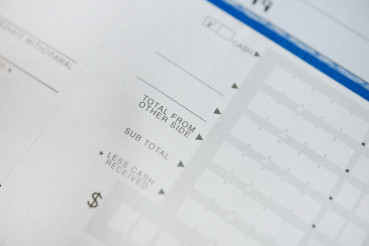 Bank Deposit Form