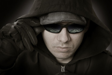 Bank Robber in Glasses