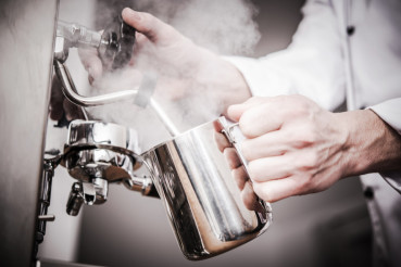 Barista Milk Steaming