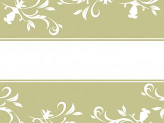 Basic Floral Vector Background