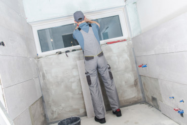 Bathroom Remodeling Job