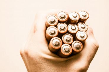 Batteries Power Concept