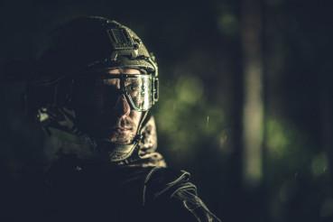 Battle Field Soldier Portrait