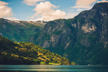 Beautiful Norway Landscape