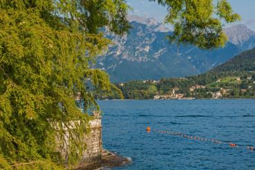 Bellagio Comune in Italy and the Lake Como