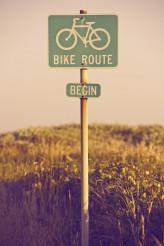 Bike Route Begin