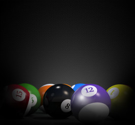 Billiard 3D Background