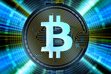 Bitcoin Cryptocurrency Abstract