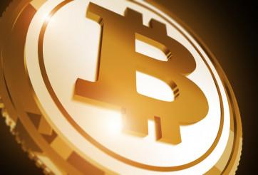 Bitcoin Golden Coin Concept
