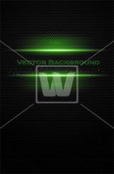 Black-Green Tech Vector
