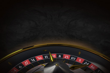 Black Roulette Background