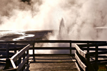 Black Sand Basin Yellowstone