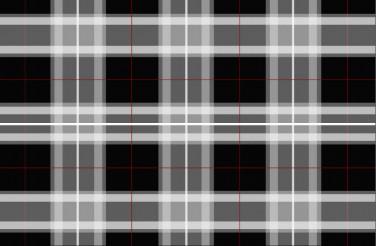 Black Vector Tartan