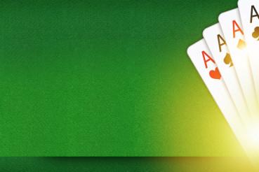 Blackjack and Poker Backdrop