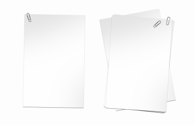 Blank Papers PNG