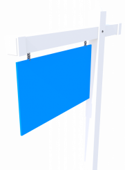 Blank Realtor Sign