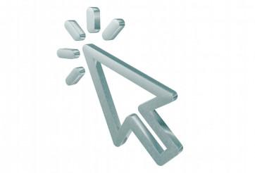 Blinking 3D Cursor Arrow