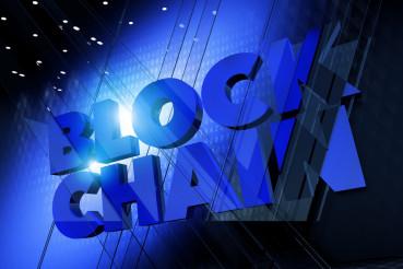 Blockchain 3D Concept