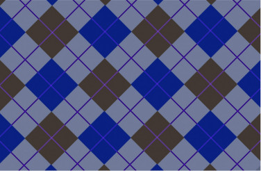 Blue-Brown Vector Tartan