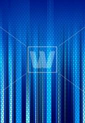 Blue Cluster Background