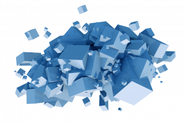 Blue Cubes Cluster