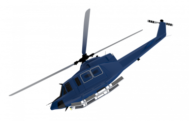 Blue Modern Chopper PNG