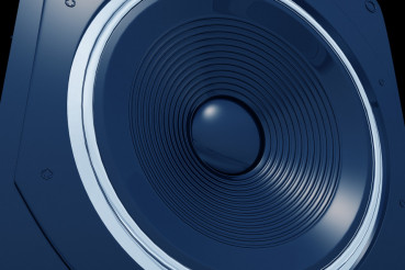 Blue Speaker