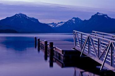 Boats Dock Lake McDonald
