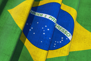 Brazil Canvas Flag