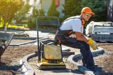 Brick Paver Worker
