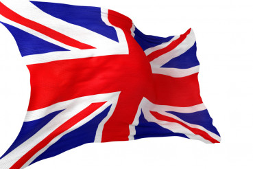 British Flag Isolated