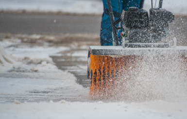 Brush Broom Snow Removal