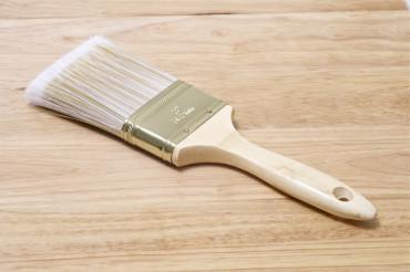 Brush on the Wood