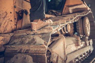 Bulldozer Operator Concept