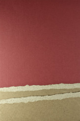 Burgundy Paper Tear