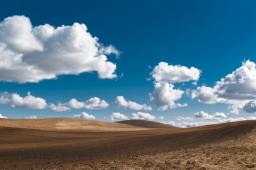 Butted Farmland Landscape